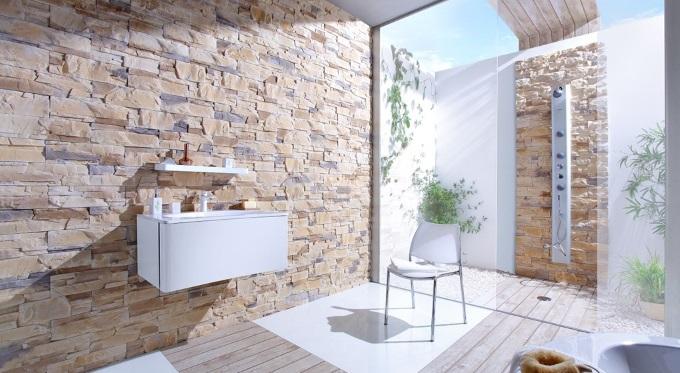 Kamień dekoracyjny w Twojej łazience