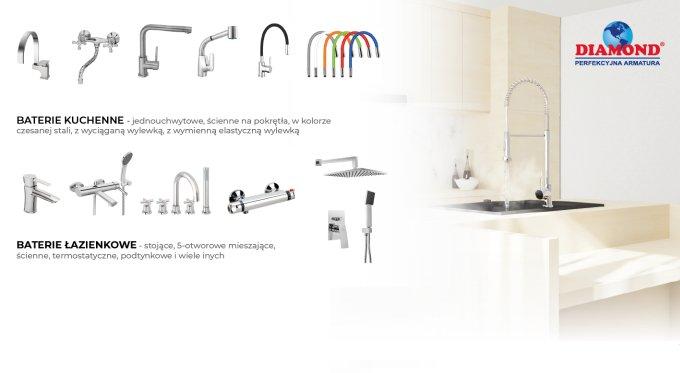 Oszczędzaj wodę z bateriami łazienkowymi!