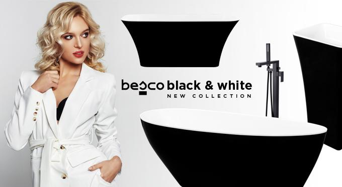 Black is back - czerń w łazience
