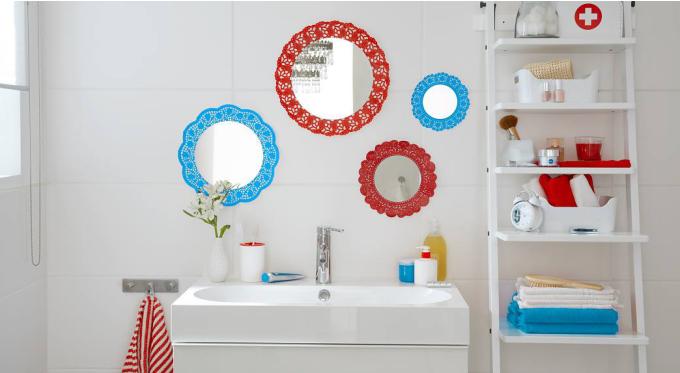 Kilka pomysłów na lustro w łazience