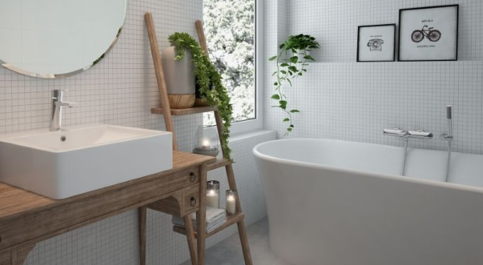Konsola w łazience