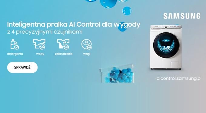 Innowacyjne technologie od Samsung dla większej wygody prania