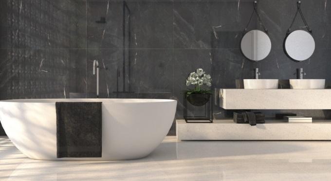 Piękno kamienia inspiracją na nową łazienkę