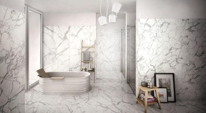 Gresy polerowane Elements Lux inspirowane marmurem